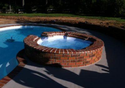 Spillover Hot Tub